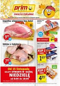 Gazetka promocyjna Prim Market - Super promocje w sklepach Prim Market - ważna do 18-11-2020