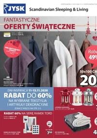 Gazetka promocyjna Jysk - Fantastyczna oferta świąteczna Jysk - ważna do 29-11-2020
