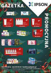Gazetka promocyjna Ipson - Promocje w sklepach Ipson - ważna do 08-01-2021