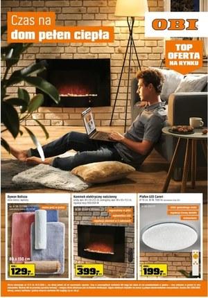 Gazetka promocyjna OBI - Czas na dom pełen ciepła z OBI