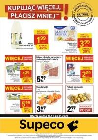 Gazetka promocyjna Supeco - Kupując więcej płacisz mniej w Supeco! - ważna do 23-11-2020