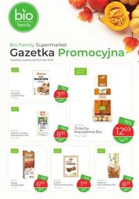 Gazetka promocyjna Bio Family - Gazetka promocyjna Bio Family  - ważna do 13-12-2020