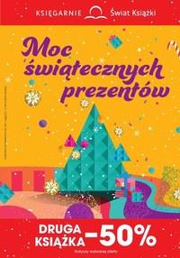 Gazetka promocyjna Księgarnie Świat Książki - Księgarnie Świat Książki - Moc świątecznych prezentów - ważna do 24-12-2020