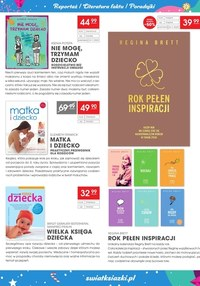 Gazetka promocyjna Księgarnie Świat Książki - Księgarnie Świat Książki - Moc świątecznych prezentów