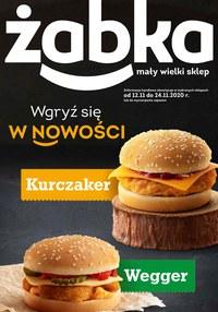 Gazetka promocyjna Żabka - Wgryź się w nowości w Żabce! - ważna do 24-11-2020