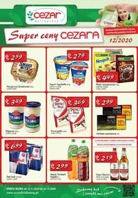 Gazetka promocyjna Delikatesy CEZAR - Promocje w Delikatesach Cezar - ważna do 25-11-2020