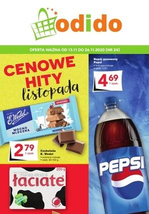 Gazetka promocyjna Odido - Cenowe hity listopada w Odido!