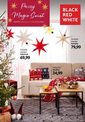 Gazetka promocyjna Black Red White - Poczuj magię świąt w Black Red White