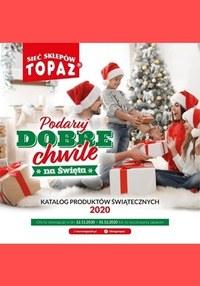 Gazetka promocyjna Topaz - Topaz - katalog produktów świątecznych