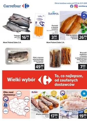 Gazetka promocyjna Carrefour - Wielki wybór w Carrefour