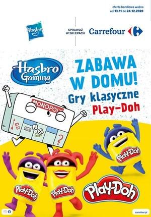 Gazetka promocyjna Carrefour - Zabawa w domu z Carrefour!