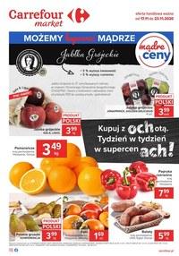 Gazetka promocyjna Carrefour Market - Możemy mądrze w Carrefour Market - ważna do 23-11-2020