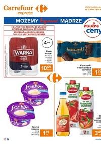 Gazetka promocyjna Carrefour Express - Okazje w Carrefour Express