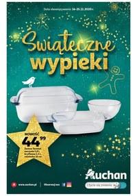 Gazetka promocyjna Auchan Hipermarket - Świąteczne wypieki z Auchan - ważna do 25-11-2020