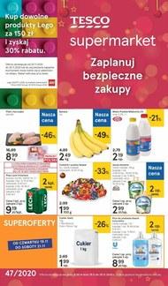 Zaplanuj bezpieczne zakupy z Tesco Supermarket