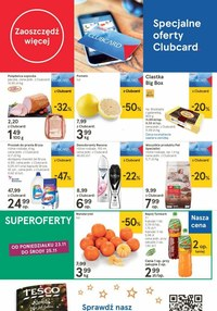 Gazetka promocyjna Tesco Supermarket - Zaplanuj bezpieczne zakupy z Tesco Supermarket