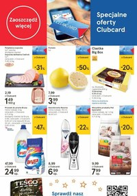 Gazetka promocyjna Tesco Centra Handlowe - Zaplanuj bezpieczne zakupy z Tesco CH