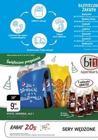 Gazetka promocyjna bi1 - Świąteczne pragnienie z Bi1 - ważna do 24-11-2020