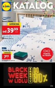 Black week w Lidl - do 80% taniej!