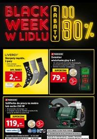 Gazetka promocyjna Lidl - Black week w Lidl - do 80% taniej!
