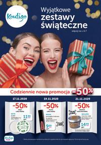 Gazetka promocyjna Kontigo - Wyjątkowe zestawy świąteczne w Kontigo - ważna do 30-11-2020