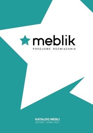 Gazetka promocyjna Meblik - Katalog 2021 Meblik