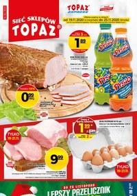 Gazetka promocyjna Topaz - Oferta handlowa Topaz - ważna do 25-11-2020