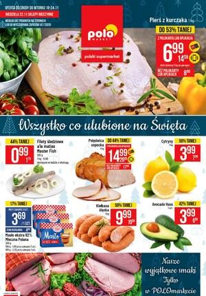 Gazetka promocyjna POLOmarket - Wszystko na święta w Polomarket!