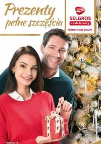Gazetka promocyjna Selgros Cash&Carry - Prezenty pełne szczęścia w Selgros - ważna do 02-12-2020