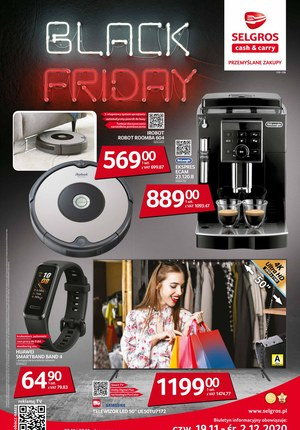 Gazetka promocyjna Selgros Cash&Carry - Black Friday w Selgros
