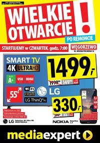Gazetka promocyjna Media Expert - Wielkie Otwarcie - Media Expert Węgorzewo - ważna do 21-11-2020