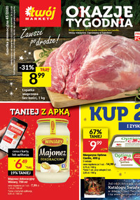 Gazetka promocyjna Twój Market - Okazje tygodnia w sklepie Twój Market - ważna do 24-11-2020