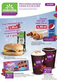 Gazetka promocyjna Stokrotka Express - Oferta Stokrotka Express - ważna do 02-12-2020