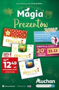 Magia prezentów w Auchan Hipermarket