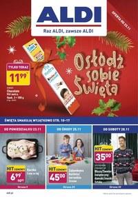 Gazetka promocyjna Aldi - Osłodź sobie święta z Aldi - ważna do 30-11-2020