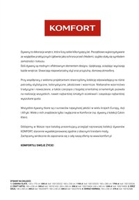 Gazetka promocyjna Komfort - Katalog dywanów Komfort 2020/21