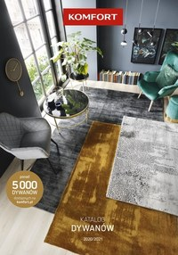 Gazetka promocyjna Komfort - Katalog dywanów Komfort 2020/21 - ważna do 31-08-2021