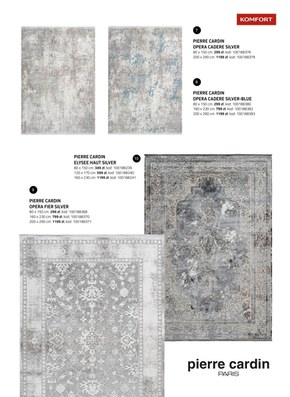Katalog dywanów Komfort 2020/21