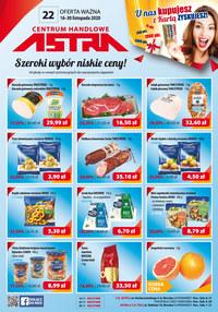 Gazetka promocyjna Astra - Szeroki wybór, niskie ceny - Astra