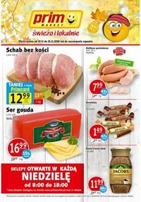Gazetka promocyjna Prim Market - Świeżo i lokalnie Prim Market!