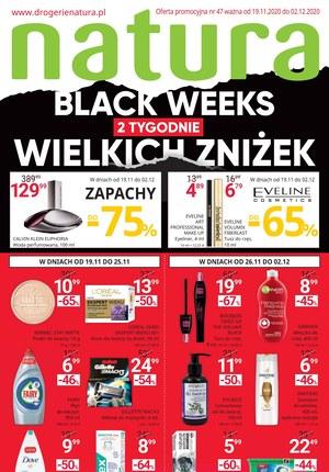 Gazetka promocyjna Drogerie Natura - Black Friday Drogeria Natura
