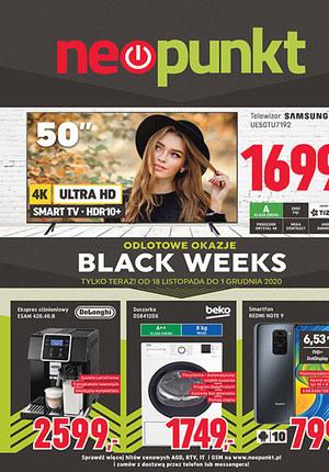 Gazetka promocyjna NEOPUNKT - Promocje na Black Friday w Neopunkt