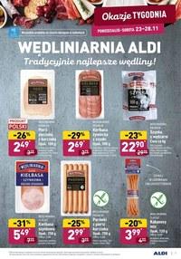 Gazetka promocyjna Aldi - Przysmaki na święta w Aldi