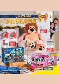 Gazetka promocyjna Makro Cash&Carry - Katalog zabawek Makro - ważna do 07-12-2020
