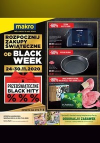 Gazetka promocyjna Makro Cash&Carry - Black week w sklepach Makro - ważna do 07-12-2020