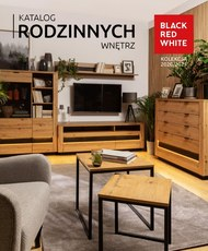 Black Red White - katalog rodzinnych wnętrz 2020/2021