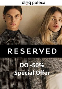 Gazetka promocyjna Reserved - Moda na Black Friday w Reserved! - ważna do 30-11-2020