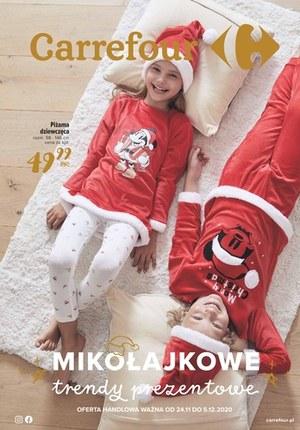 Gazetka promocyjna Carrefour - Mikołajowe trendy w Carrefour