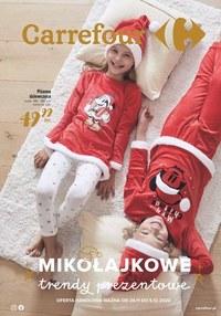 Gazetka promocyjna Carrefour - Mikołajowe trendy w Carrefour - ważna do 05-12-2020