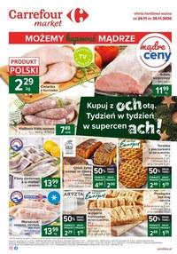 Gazetka promocyjna Carrefour Market - Kupuj z ochotą w Carrefour Market - ważna do 30-11-2020